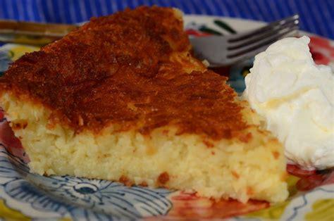 Pumpkin Pie Ingredients List by Impossible Coconut Pie Joyofbaking Com Recipe
