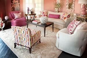 10, Amazing, Pink, Living, Room, Interior, Design, Ideas