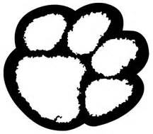 tiger paw print colouring pages - Coloring Pages Tigers Print