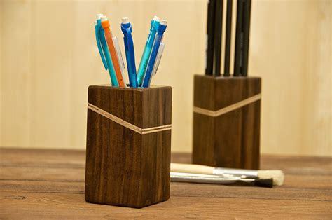 wooden pencil holder woodworking  furniture