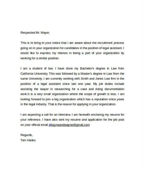 Email As Cover Letter by 21 Email Cover Letter Exles Sles Exles
