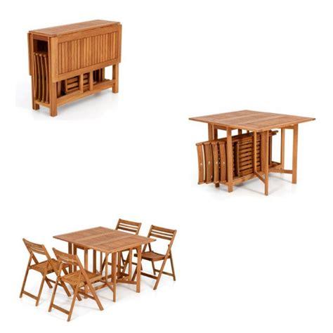 tavolo pieghevole con sedie tavolo legno giardino tavolo allungabile sedie pieghevole