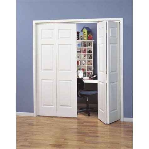 shop reliabilt hollow core  panel bi fold closet interior