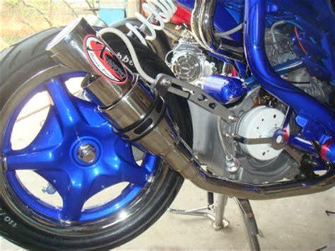 Modif Mio Soul Pelek 17 Warna Biru by Modifikasi Yamaha Mio Sporty Warna Biru Bikin Terkesan