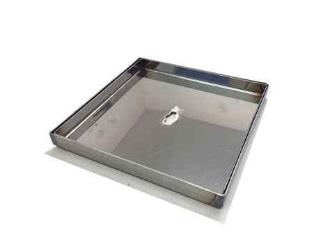 stainless steel lid tray  deck boxes xmm