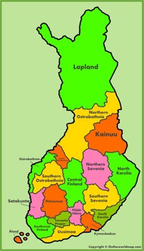 finland maps maps  finland