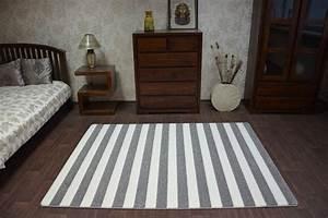 Teppich Schwarz Weiß Gestreift : teppich grau wei gestreift ~ A.2002-acura-tl-radio.info Haus und Dekorationen