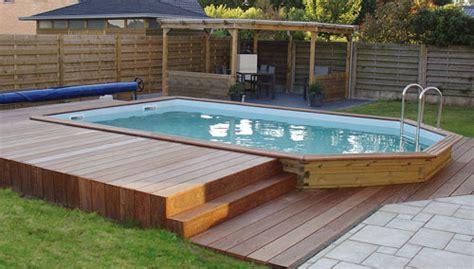 piscine hors sol bois promo