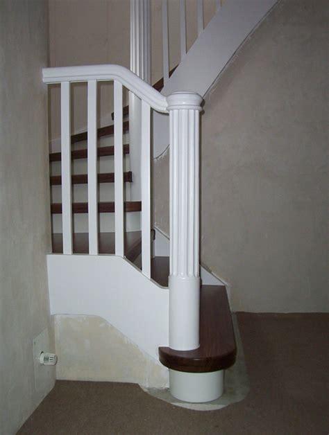 Treppengeländer Weiß Holz by Treppengel 228 Nder Aus Holz Sicher