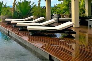 Pool Deck Furniture Longue