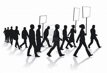 Demonstration Clipart Freedom Assembly Clip Illustration Vector