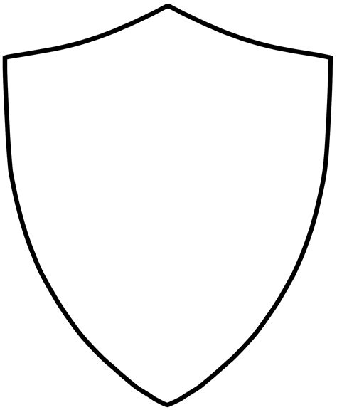 blank shield clipart clipart panda  clipart images