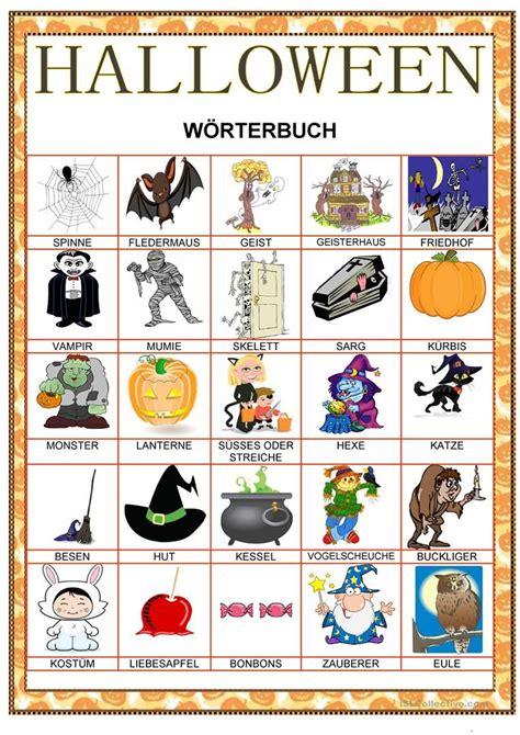 halloween woerterbuch halloween retro halloween
