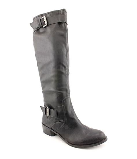moto style boots style co womens wide calf moto boots womens footwear