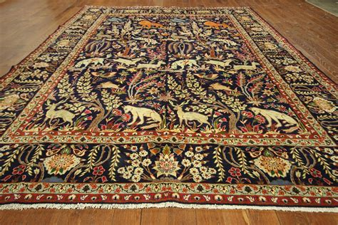 What Size Rug Pad For 8x10 Rug by New King Of The Jungle Design 10 X13 Authentic Hand