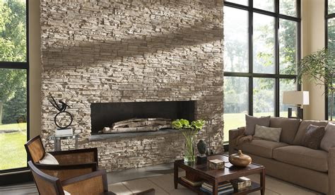 Comfy Stone Fireplaces For Home Interior