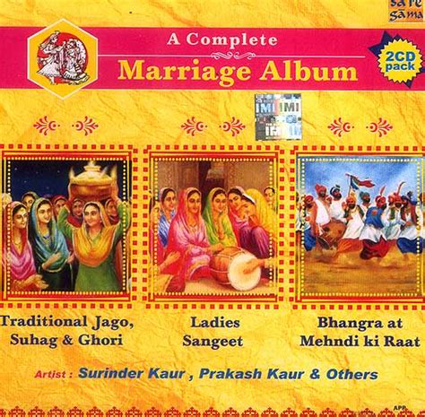 complete marriage album traditional jago suhag ghori