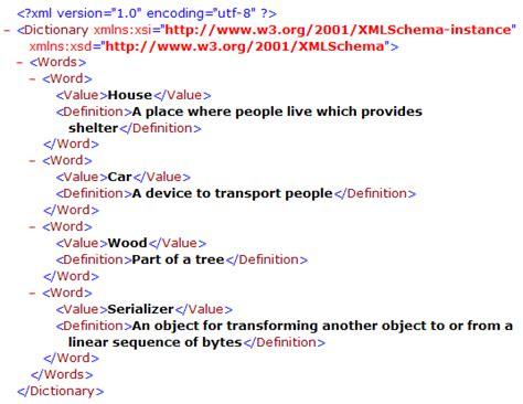Serializing Xml With Stylesheet Codeproject