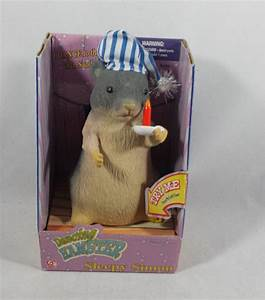 Image - New Gemmy Singing Dancing Hamster Sleepy Simon ...