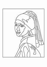 Vermeer sketch template