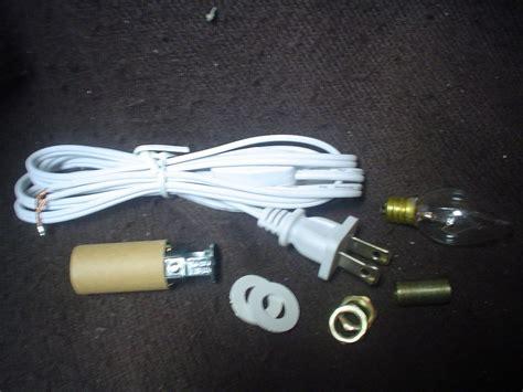 e050 ceramic tree small light kit fixture cord w