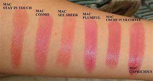 I have a rather ambitious project of swatching ALL the MAC ...