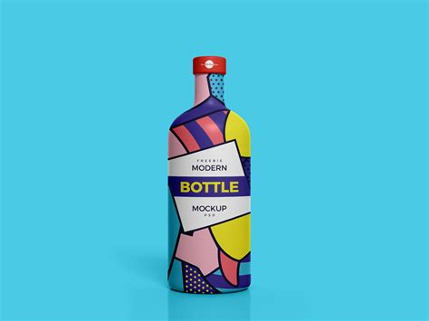The featured smart object option enables you to. Modern Bottle Mockup PSD Free Template - TakeWP