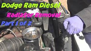 How To Remove A Radiator On A 2001 Dodge Ram 2500 Cumming