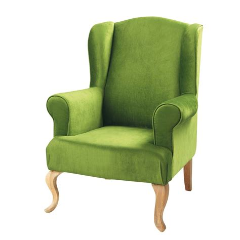 Green Armchair green armchair maisons du monde