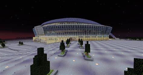 att stadium dallas cowboys minecraft project