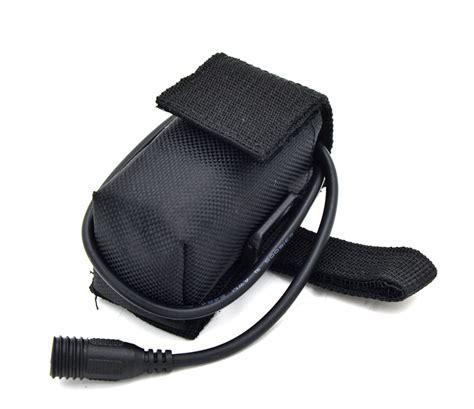 bike light battery bag free shipping 4x18650 6400mah rechargeable 18650 li ion
