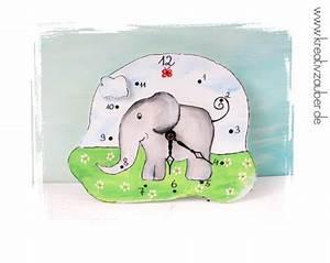 Uhrwerk Zum Basteln : elefantenuhr kreativzauber bastelblog mit vielen vorlagen anleitungen und ideen ~ Eleganceandgraceweddings.com Haus und Dekorationen