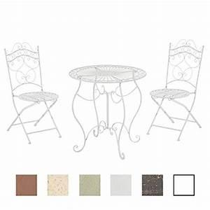 Tisch Rund 70 Cm : clp garten sitzgruppe indra metall eisen design antik tisch rund 70 cm wei gartensitzgruppe ~ Bigdaddyawards.com Haus und Dekorationen