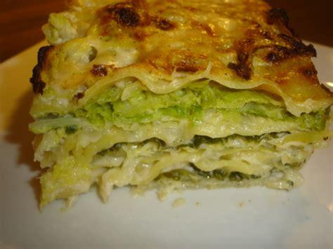 cuisiner un choux vert lasagnes au chou vert frisé