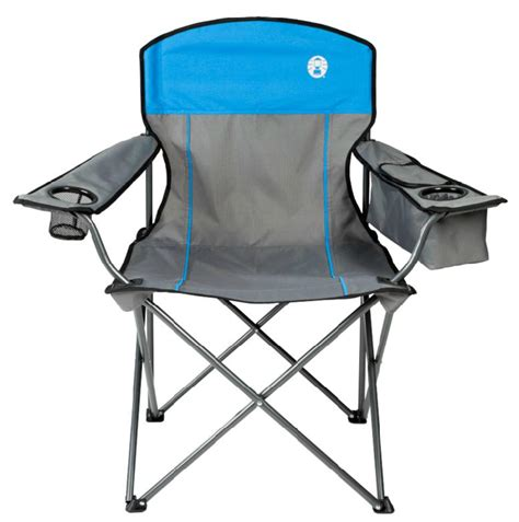 Coleman Oversized Chair With Cooler Pouch by 2 Coleman Cing Outdoor Oversized Cooler Chairs W