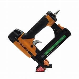 shop bostitch 18 gauge 1 in flooring pneumatic stapler at With bostitch flooring staples