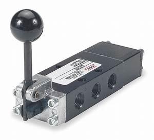 Aro 1  4 U0026quot  Manual Air Control Valve With 4