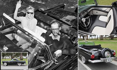 marilyn monroes ford thunderbird set  auction daily