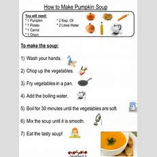 Pumpkin Soup Instruction Writing By Patriciarose76  Teaching Resources