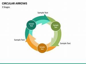 Circular Arrows Powerpoint Template