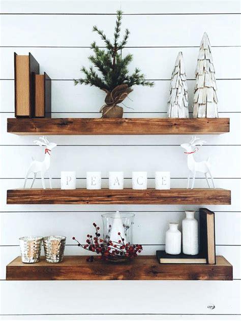 reclaimed wood floating shelves reclaimed floating wood shelves x shel on distressed wood 4531