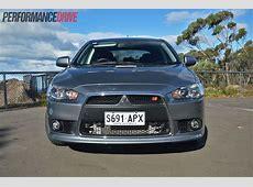 2013 Mitsubishi Lancer Ralliart Sportback review video