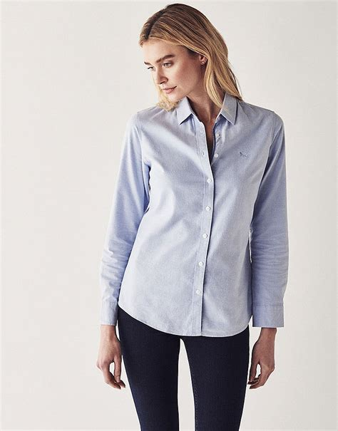 s heritage classic oxford shirt in classic blue from