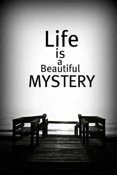 Lifes Mysteries Quotes