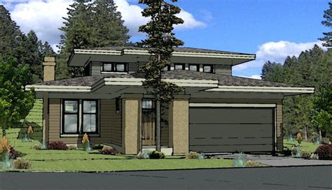 contemporary small prairie style home plans craftsman modern prairie style home plans