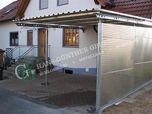überdachung Selber Bauen Metall : carports metallbau hans g nther grubert gmbh bamberg hallstadt ~ Sanjose-hotels-ca.com Haus und Dekorationen
