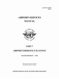 Icao Doc 9137 Part 7 Manual