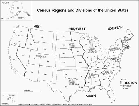 census bureau usa census bureau regions map