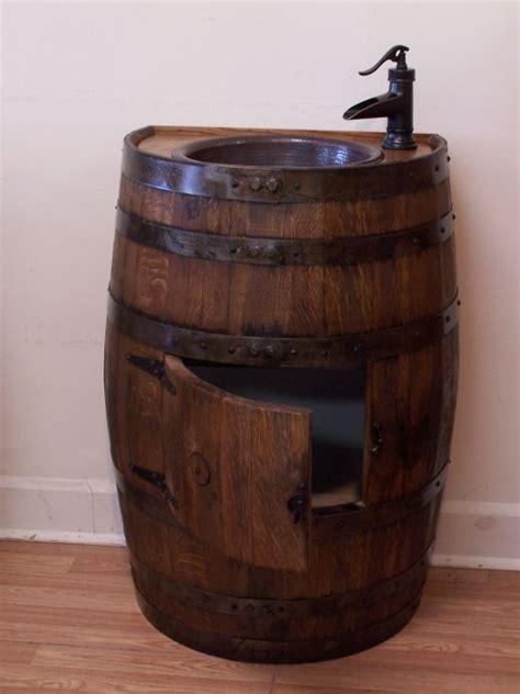 rain barrels   barrel sinks