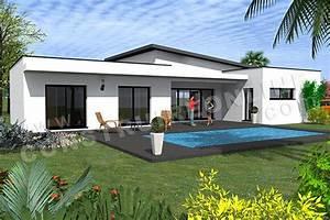 Plan De Maison Monopente Etna 1  Avec Images